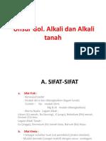 Alkali & Alkali Tanah