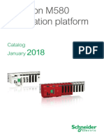 Modicon M580 Automation Platform 2018