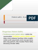 Patient safety  di puskesmas.ppsx