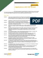 OpenSAP Sps4 Week 1 Transcript De