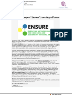 Progetto Ensure, meeting a Pesaro - Viverepesaro.it, 12 ottobre 2018