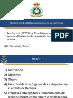Tema 2 Catalogacion Otan Real Decreto 166 2010