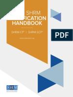 SHRM Certification HandbookFINAL