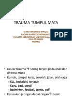 trauma-tumpul-mata-kul-2012.pptx