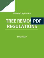 Tree Removal Darebin Council Regulations - Summary[1]