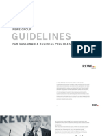 REWE Group – Guidelines for Sustainable Business Practices