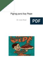 Piging Para Kay Pepe