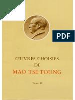 Œuvres choisies de Mao-Tsé-Toung (tome 2)