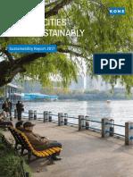 KONE Sustainability Report 2017 Tcm17-72109