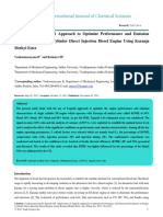 Application of Taguchi Approach to Optimize Performance and Emission Parameters of Single Cylinder Direct Injection Dies