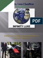 Infinity Luxe Chauffeur | Chauffeur privé & VTC de luxe Paris, Londres, Rome, New-York, Miami...