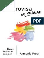 Improvisa de Verdad - Bases Musicales IFR Volumen 1 - Armonía Pura
