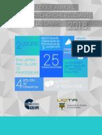 CAPREC - Programme 2018
