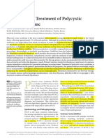 Diagnosis and Treatment of PCOS