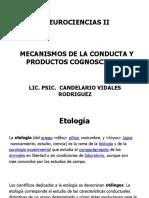 3 Mecanismos de La Conducta y Productos Cognoscitivos