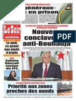 Journal Le Soir DAlgerie Du Lundi 15 Octobre 2018