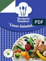RECETARIO CENAS SALUDABLES