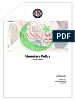 Monetary policy - Tools & Affects.docx