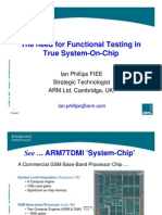 Arm Functional_testing in True SoC