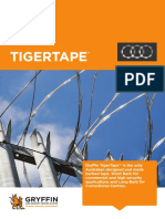 Tigertape or Razorwire Security Fence From Gryffin
