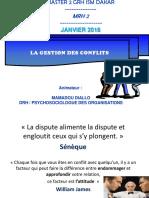 Gestion Des Conflits Ism Mrh 2 018
