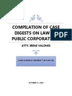 LAW ON PUBLIC CORPORATION CASE DIGESTS POOL.xlsx.docx