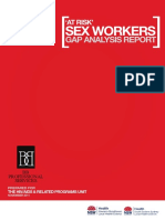 2011 Sex Workers Gap Analysis Report