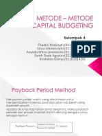 Metode – Metode Capital Budgeting_(1)