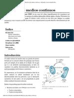 Mecánica de Medios Continuos - Wikipedia, La Enciclopedia Libre