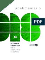 Agroalimentarios (Informe Sectorial CESCE)