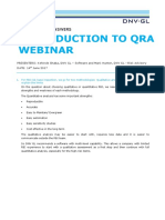 Introduction to Quantitative RisK Assessment Webinar - QaA_tcm8-99020