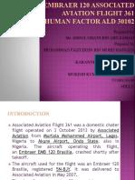 EMBRAER 120 Associated Aviation Flight 361.pptx