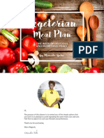 Vegeterian Meal Planner