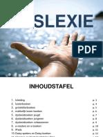 Digitale Brochure - Dyslexie