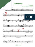 Aria Di Festa (Clarinetto in Sib)