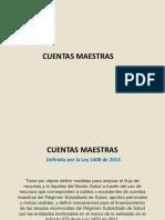 Cuentas Maestras S