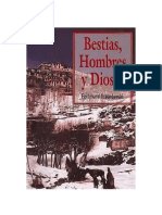 Ossendowski Ferdynand - Bestias Hombres Y Dioses