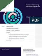 Taskfeed Customer Onboarding Benchmark Report 2018