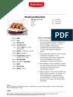 Zwetschgen-Hefestreuselkuchen