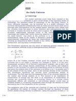 Relic Density and Boltzman Equation