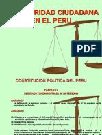 Seguridad Ciudadana en la Ley Orgánica de Municipalidades del Perú.