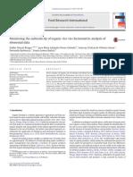 Monitoring the authenticity of organic rice via chemometric.pdf