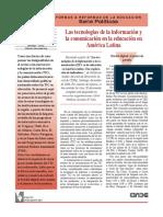Las+tecnologías+de+la+información+y+la+comunicación+en+la+educación+en+América+Latina
