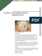 Manual Convertidores Par Divisores Par