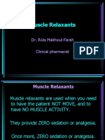 Muscle Relax Ppt