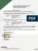 Surat Dukungan Pabrik Pipa Wavin