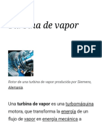 Turbina de vapor - Wikipedia, la enciclopedia libre.pdf