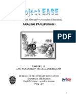 Modyul 12 Ang Pananakop Ng Mga Amerikano