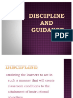Discipline and Counseling