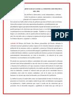 Analisis de Los Articulos 44 y 46 de La Constitucion Politica Del 1993